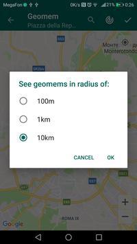Geomem screenshot 3