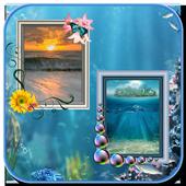 Sea Photo Frames – Dual icon