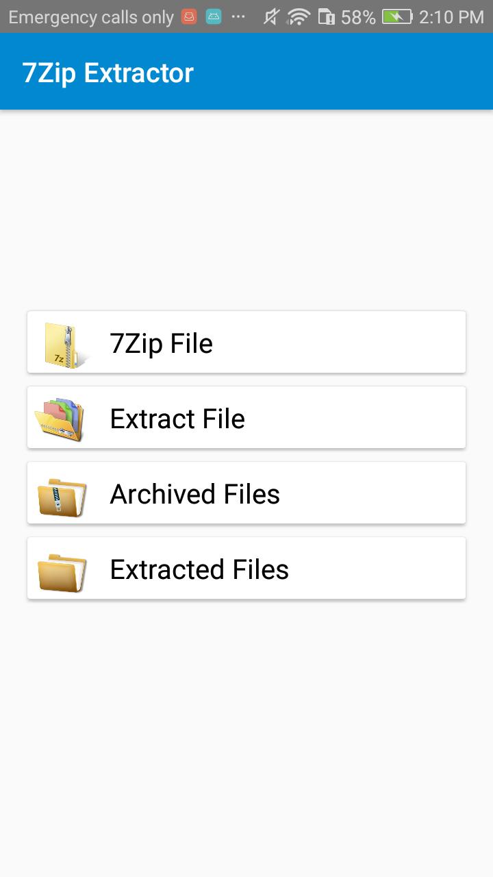 Lite 7z zip & 7z File Extractor for Android - APK Download