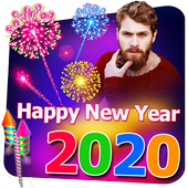 2020 New Year Photo Frames, Greetings icon