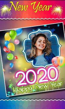 2020 New Year Photo Frames, Greetings screenshot 3