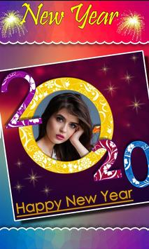 2020 New Year Photo Frames, Greetings poster
