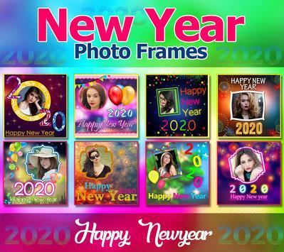 2020 New Year Photo Frames, Greetings screenshot 16