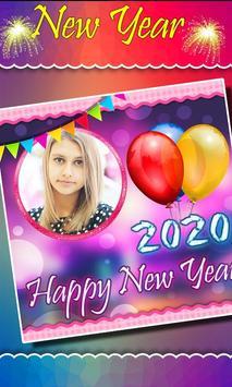 2020 New Year Photo Frames, Greetings screenshot 1
