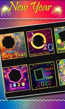2020 New Year Photo Frames, Greetings screenshot 2