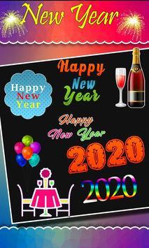 2020 New Year Photo Frames, Greetings screenshot 7