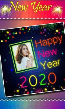 2020 New Year Photo Frames, Greetings screenshot 4