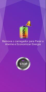 Alarme de Bateria 100% imagem de tela 3