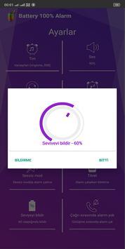 Battery 100% Alarm Ekran Görüntüsü 5