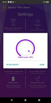 Battery 100% Alarm screenshot 4