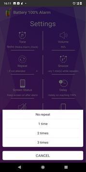 Battery 100% Alarm screenshot 5