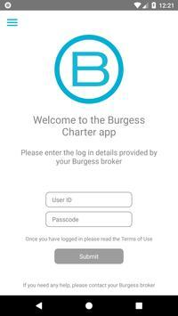 Burgess Charter poster