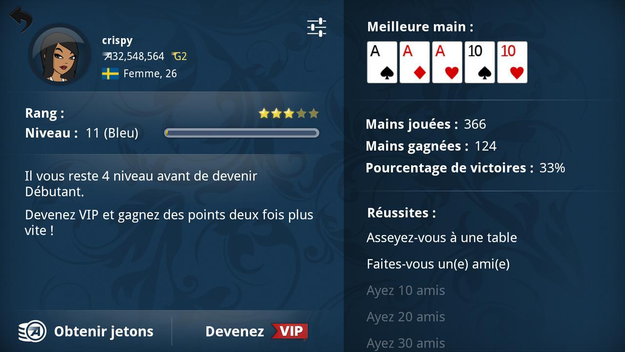 Meilleur appli poker android