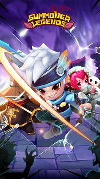 Summoner Legends RPG poster