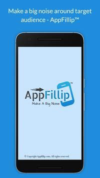 AppFillip™ CRM - App Marketing, Promotion Solution poster
