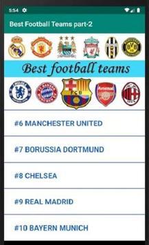Best Football Teams part-2 screenshot 1