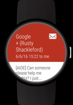 Mail client for Wear OS watches screenshot 11