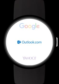Mail client for Wear OS watches screenshot 1