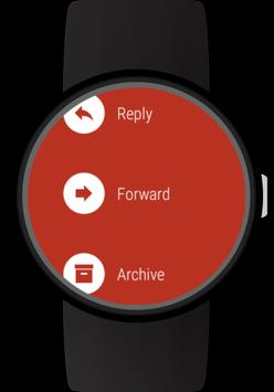 Mail client for Wear OS watches screenshot 3