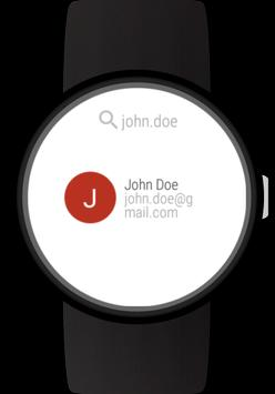 Mail client for Wear OS watches screenshot 4