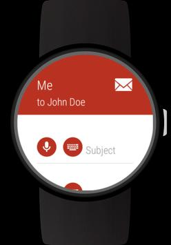 Mail client for Wear OS watches screenshot 5