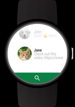 Messages for Wear OS (Android Wear) poster