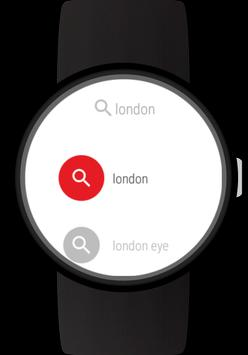 Web Browser for Wear OS (Android Wear) Screenshot 1