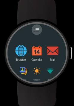 Launcher for Wear OS (Android Wear) imagem de tela 1