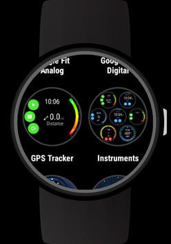 GPS Tracker for Wear OS (Android Wear) captura de pantalla 1