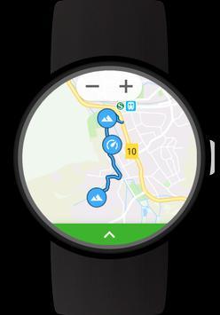 GPS Tracker for Wear OS (Android Wear) captura de pantalla 2