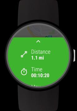GPS Tracker for Wear OS (Android Wear) captura de pantalla 3