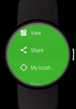 GPS Tracker for Wear OS (Android Wear) captura de pantalla 4