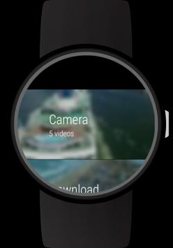 Video Gallery for Wear OS (Android Wear) screenshot 2