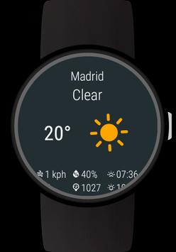 Weather for Wear OS (Android Wear) poster