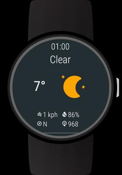 Weather for Wear OS (Android Wear) screenshot 3