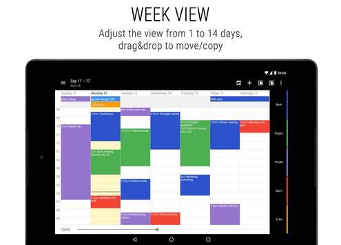 Business Calendar screenshot 9