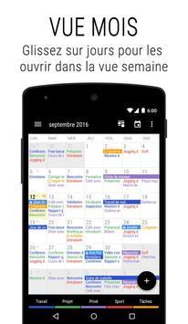 Agenda Business・Calendrier, Organisation, Planning Affiche