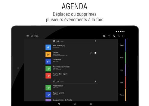 Agenda Business・Calendrier, Organisation, Planning capture d'écran 14