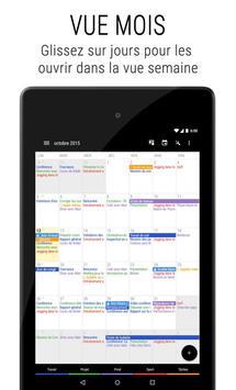 Agenda Business・Calendrier, Organisation, Planning capture d'écran 16
