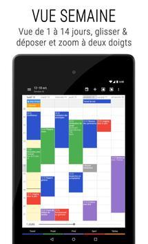 Agenda Business・Calendrier, Organisation, Planning capture d'écran 17