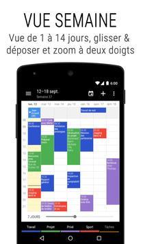 Agenda Business・Calendrier, Organisation, Planning capture d'écran 1