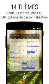 Agenda Business・Calendrier, Organisation, Planning capture d'écran 4