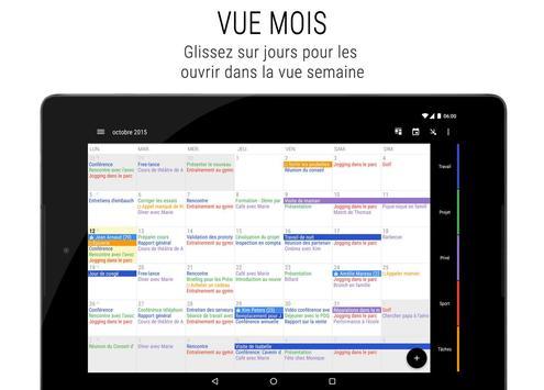 Agenda Business・Calendrier, Organisation, Planning capture d'écran 8