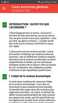Cours économie générale screenshot 1