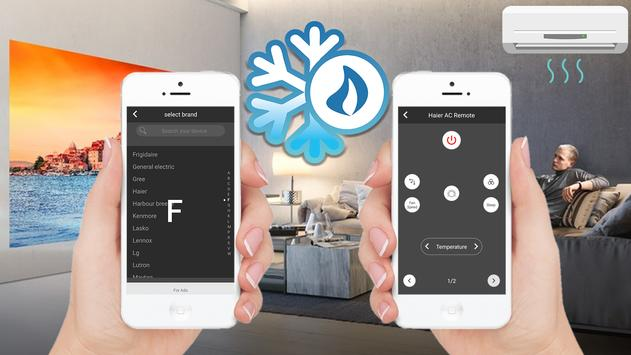 Ac Remote Control - Remote for Air Conditioner screenshot 1