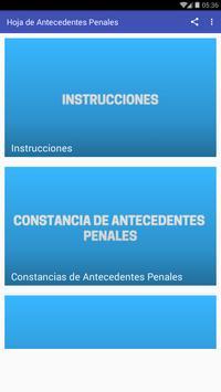 Antecedentes Penales Honduras screenshot 6