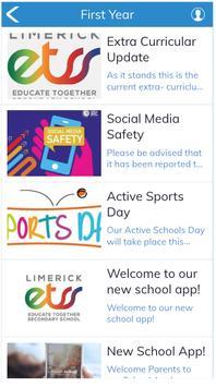 Limerick ETSS School App screenshot 3