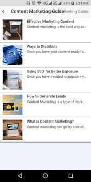 Content Marketing Guide screenshot 1