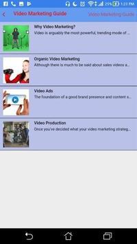 Video Marketing Guide screenshot 1