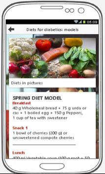Diabetics Diet Recipes - Healthy Life poster